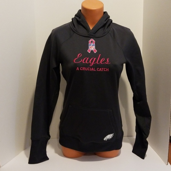 reputable site 605ec d9c77 Nike Therma-fit Hoodie Eagles Crucial Catch Small